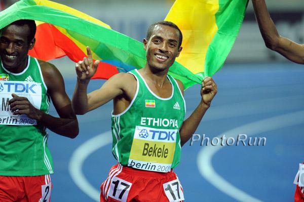 """Kenenisa Bekele: """"Ich bin bereit für ein Duell mit Usain Bolt"""""""