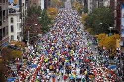 Tausende von Läufern starten in jedem Jahr in New York City. ©www.PhotoRun.net
