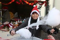 Die Kinderhilfe ist mit einem Stand auf den Weihnachtsmärkten der Gemeinde vertreten. ©Andreas-Norbert Schuchardt