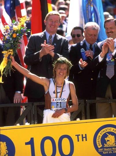 110. Boston-Marathon am Ostermontag: Vor zehn Jahren gewann Uta Pippig eines der außergewöhnlichsten Marathonrennen aller Zeiten