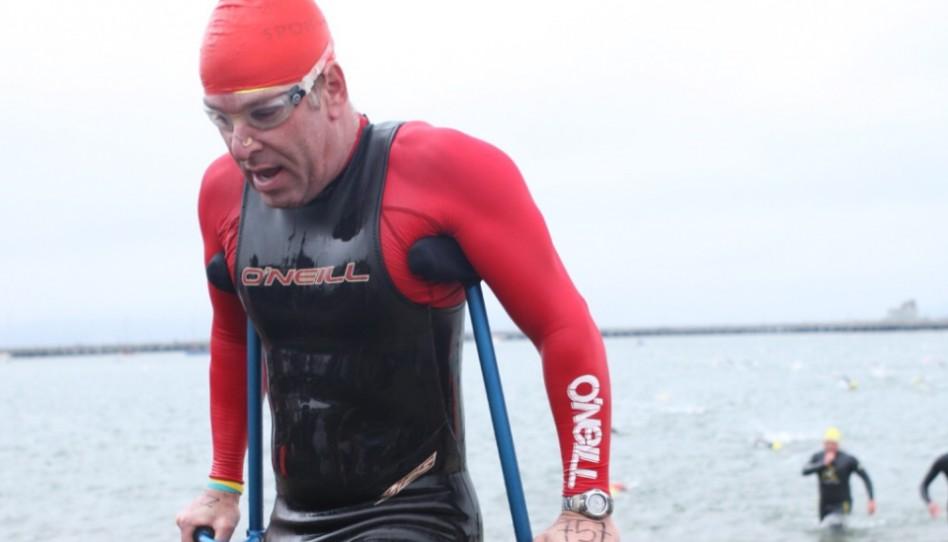 Der eiserne Wille eines außergewöhnlichen Athleten gibt Menschen Inspiration und Hoffnung