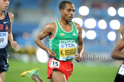 Kenenisa Bekele, seen here at the World Championships 2011 in South Korea, aims at a new course record in Chicago. © www.PhotoRun.net