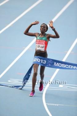 Edna Kiplagat wurde zum zweiten Mal Marathon-Weltmeisterin. ©www.PhotoRun.net