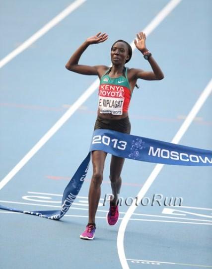 WM-Aktuell: Edna Kiplagat verteidigt ihre Marathon-Goldmedaille