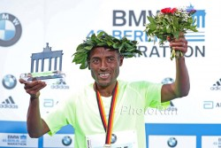 Kenenisa Bekele gewinnt mit dem zweitschnellsten Ergebnis aller Zeiten. ©www.PhotoRun.net