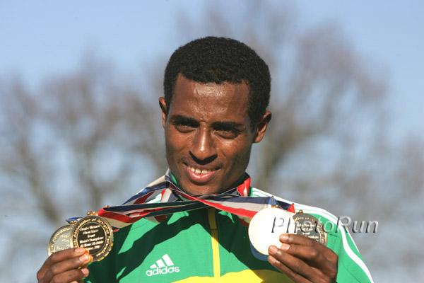 Cross-WM: Das unglaubliche Comeback des Kenenisa Bekele