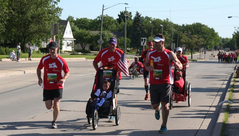 Inspiration, Hilfsbereitschaft und Freude prägen den Bellin Run