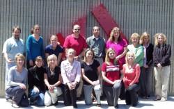 Uta mit den Mitgliedern des KI Corporate-Teams. ©Take The Magic Step®
