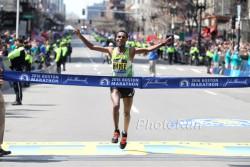 Lemi Berhanu Hayle gewann den Boston-Marathon und hat nun beste Chancen auf einen Olympia-Start. ©www.PhotoRun.net
