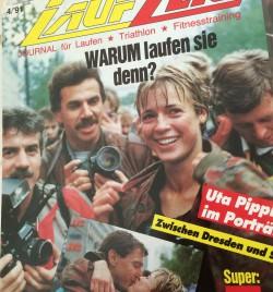 Berlin Marathon 1990 © Laufzeit 4/'91