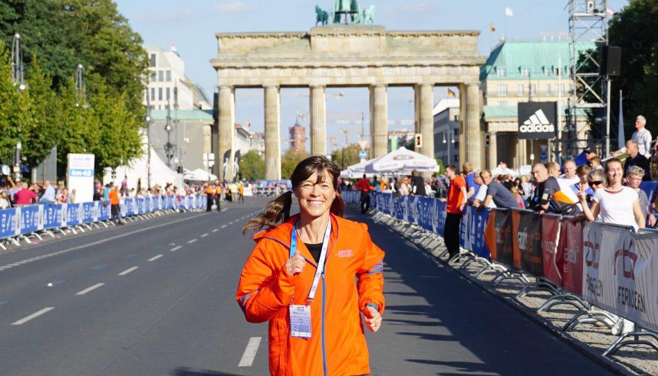 Uta ist mit Euch am Start beim Berlin-Marathon