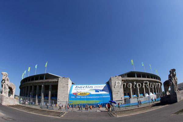 IAAF vergibt Leichtathletik-WM 2009 an Berlin