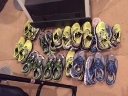 Viele Meilen in vielen Schuhen... © Bob Hart