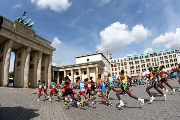 Berlin und der sprintende Bär erobern die Herzen bei der WM 2009