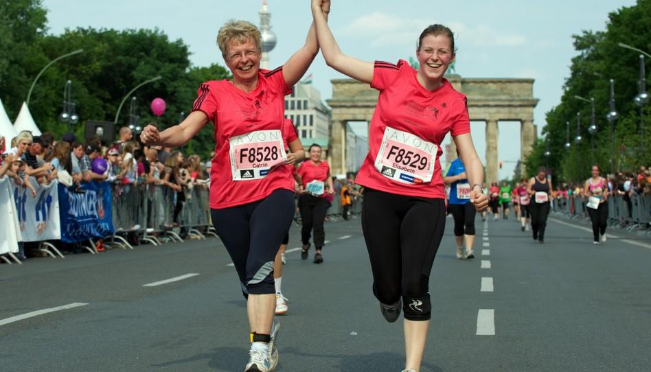 Tausende Läuferinnen und tolle Stimmung in Berlin