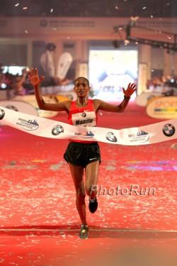 Mamitu Daska überzeugt mit einer persönlichen Bestzeit. ©www.photorun.net
