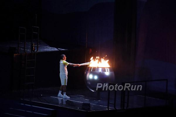 Eliud Kipchoge und Jemima Sumgong holen olympisches Gold in Rio de Janeiro