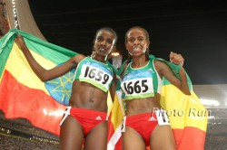Will we see another exciting duel between Tirunesh Dibaba and Meseret Defar as we did at the 2008 Olympics in Beijing? © www.PhotoRun.net