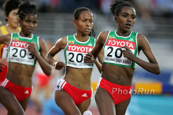 WM (8. Tag): Tirunesh Dibaba läuft zu historischem Doppelsieg