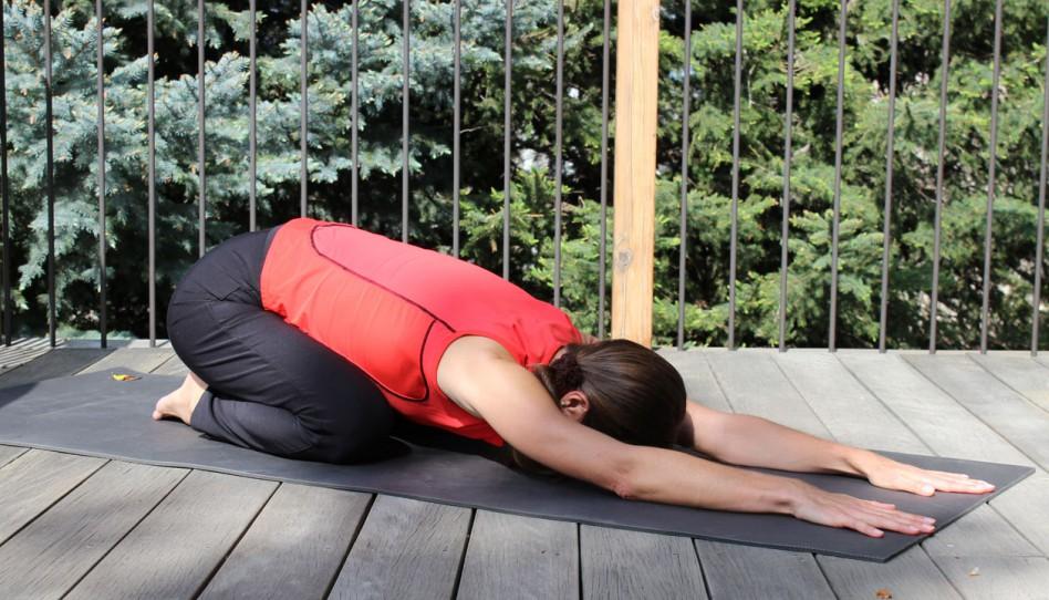 Grüβe von Uta: Yoga-Pose der Woche – 8. Die Stellung des Kindes