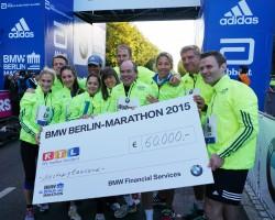 Die Staffel des RTL – Wir helfen Kindern – Spendenmarathons. ©Take The Magic Step
