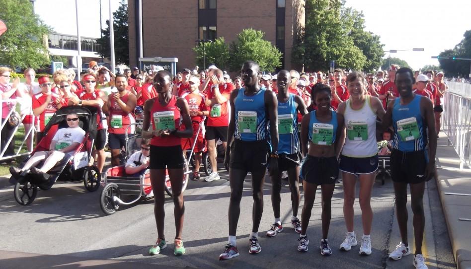 Allan Kiprono und Risper Gesabwa gewinnen warmen Bellin Run