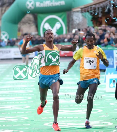Läufer weltweit stimmen sich sportlich auf das Neue Jahr ein