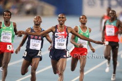 Mo Farah holt Gold im 5.000-m-Finale. ©www.PhotoRun.net