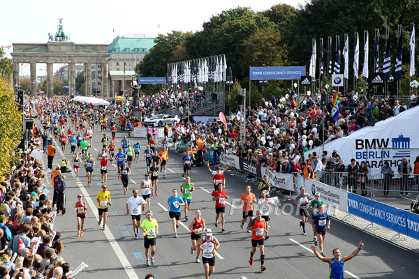 Mindestens 9.150 Läufer beim Berlin-Marathon überholt