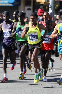 Haile Gebrselassie bei seinem Rennen in New York. ©www.photorun.net