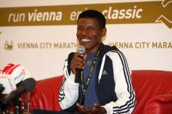 Haile Gebrselassie möchte sich in Berlin für die Olympischen Spiele qualifizieren. ©www.photorun.net