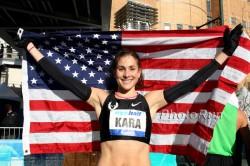Die Amerikaner hoffen auf Kara Goucher beim Boston-Marathon. ©www.photorun.net