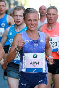 Anna Hahner lief auf den 13. Platz. ©www.PhotoRun.net