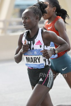 Mary Keitany celebrated a great comeback with her victory in New York. ©www.PhotoRun.net