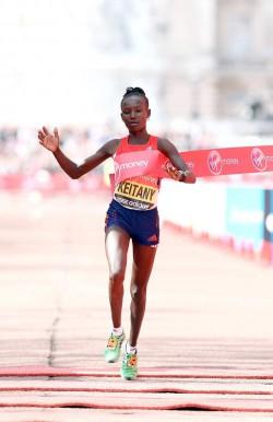 Mary Keitany wurde am Sonntag zur drittschnellsten Läuferin aller Zeiten. ©www.photorun.net