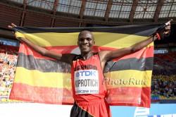 Stephen Kiprotich wurde in Moskau Marathon-Weltmeister. ©www.PhotoRun.net
