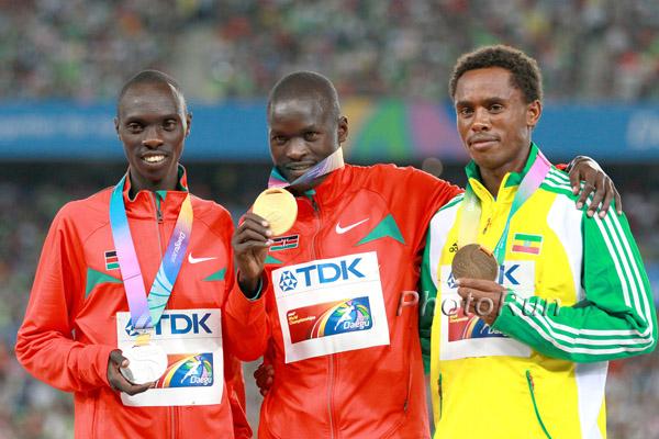 WM-Aktuell: Abel Kirui verteidigt seine Marathon-Goldmedaille