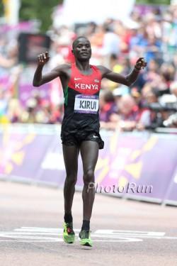 Abel Kirui wird Zweiter in London. ©www.PhotoRun.net