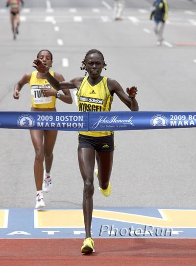 Merga und Kosgei überzeugen beim Boston-Marathon