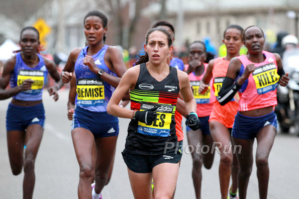 Lelisa Desisa und Caroline Rotich gewinnen windigen Boston-Marathon