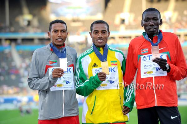 WM-Aktuell: Kenenisa Bekele schafft Novum mit 5.000-m-Sieg