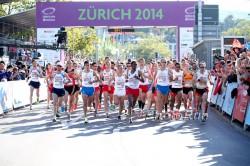 The start of the men's marathon. ©www.PhotoRun.net