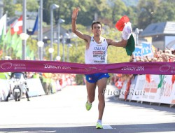 Daniele Meucci ist der neue Marathon-Europameister. ©www.PhotoRun.net