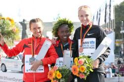 Irina Mikitenko, Florence Kiplagat und Paula Radcliffe. ©www.PhotoRun.net