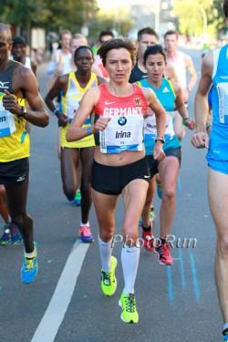 Irina Mikitenko lief einen Master-Weltrekord in der deutschen Hauptstadt. ©www.PhotoRun.net