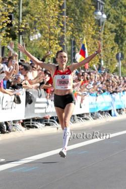 Irina Mikitenko wird beim London-Marathon an den Start gehen. © www.photorun.net