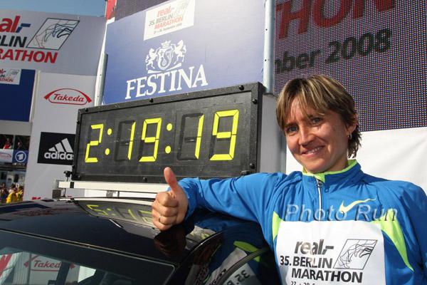 Haile läuft Weltrekord, Mikitenko unter 2:20 beim Berlin-Marathon
