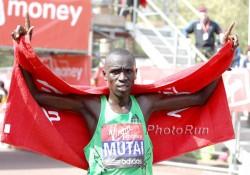 Emmanuel Mutai siegte in London. ©www.photorun.net