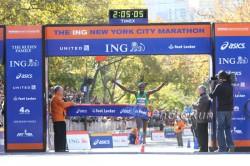 Geoffrey Mutai ist der erste Boston- und New York City-Marathon-Champion innerhalb des selben Jahres seit Rodgers Rops Siegen 2002. ©www.PhotoRun.net