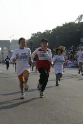 Erlebnis real,- Mini-Marathon in Berlin am Sonntag
